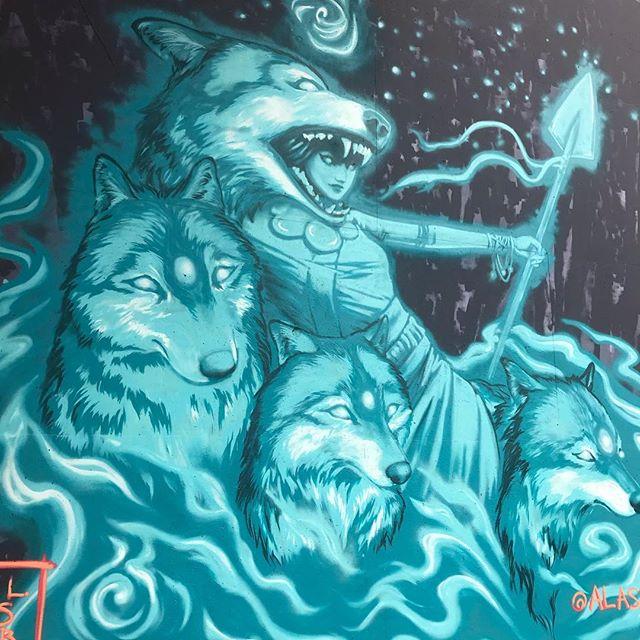 // Atlanta street art and graffiti