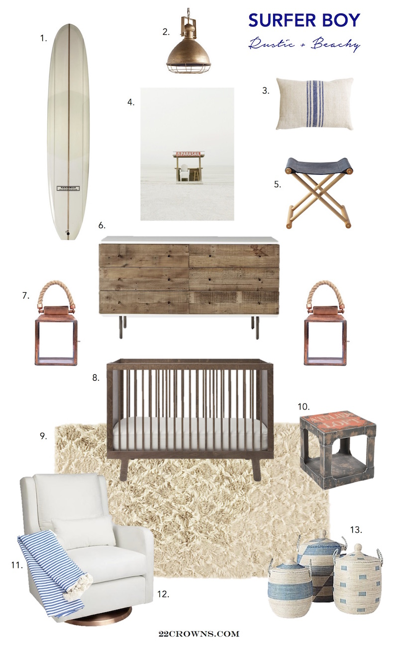 Surfer Boy Nursery