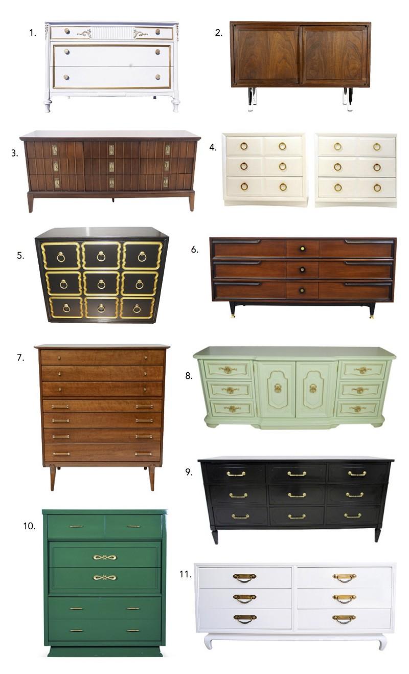 Vintage Dresser Roll Call 2