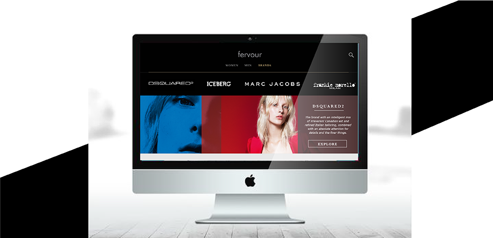 FERVOUR . WEB DESIGN