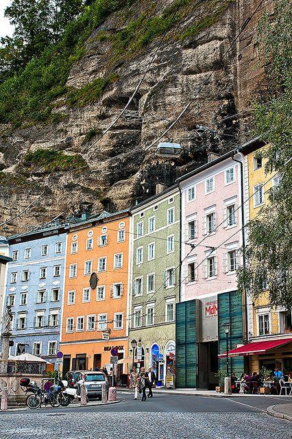 Salzburg, Austria. July 2018