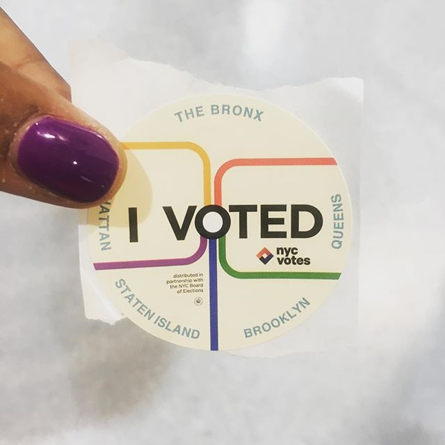 I voted already, despite being super unsure about the integrity of the system and my fellow citizenry. But I did it, and I'm tired of being reminded about it (it just increases my anxiety and lack of confidence), so I'm totally gonna take a mental health respite away from social media for the rest of the day. Be well, and good luck to us all. Somebody text me if there's good news... And to all my foreign friends, I'm still single~ (Halp! 🙏🏿) 🗳  #vote #midterms