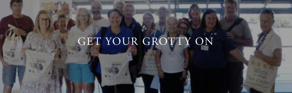 Join us at the Southport Yacht Club on May 7th to collect your:  GROTTY YACHTY 2018 GO EAST RALLY T-SHIRTS GROTTY YACHTY GOODIES BAG DOWN UNDER RALLY DOCUMENT SATCHEL