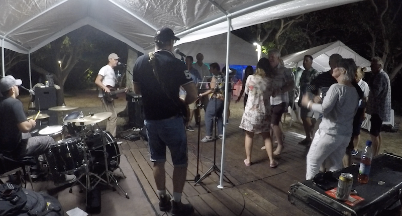Live Music at End of passage party