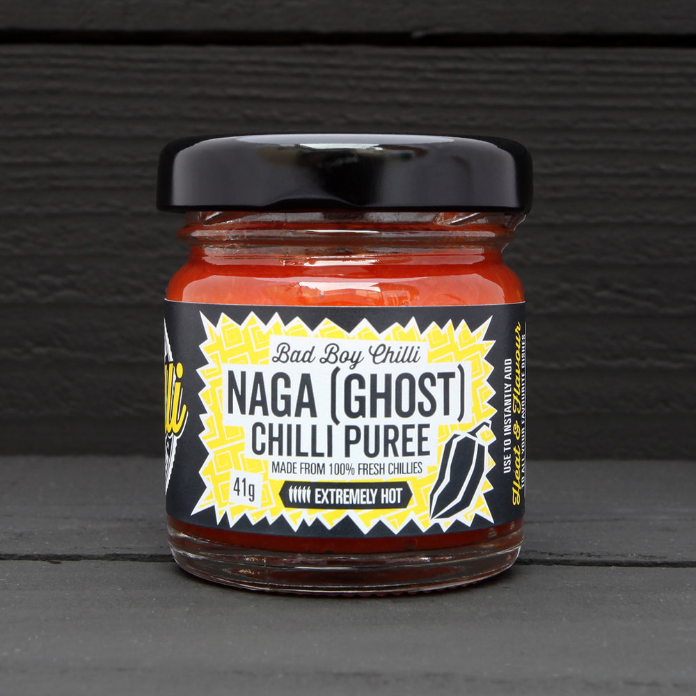 Ghost chilli puree