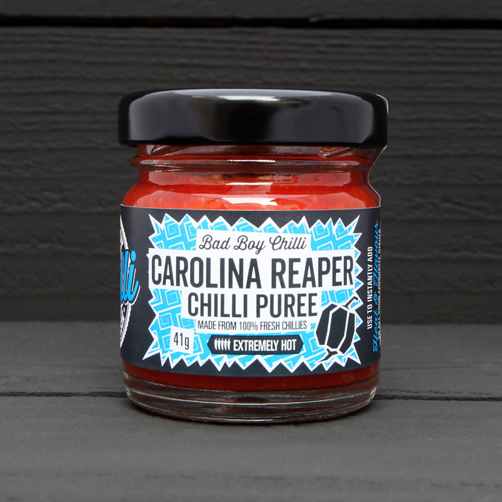 Carolina reaper chilli puree