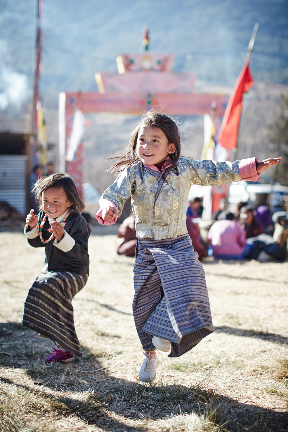 Happiness at the festival in Tang Valley