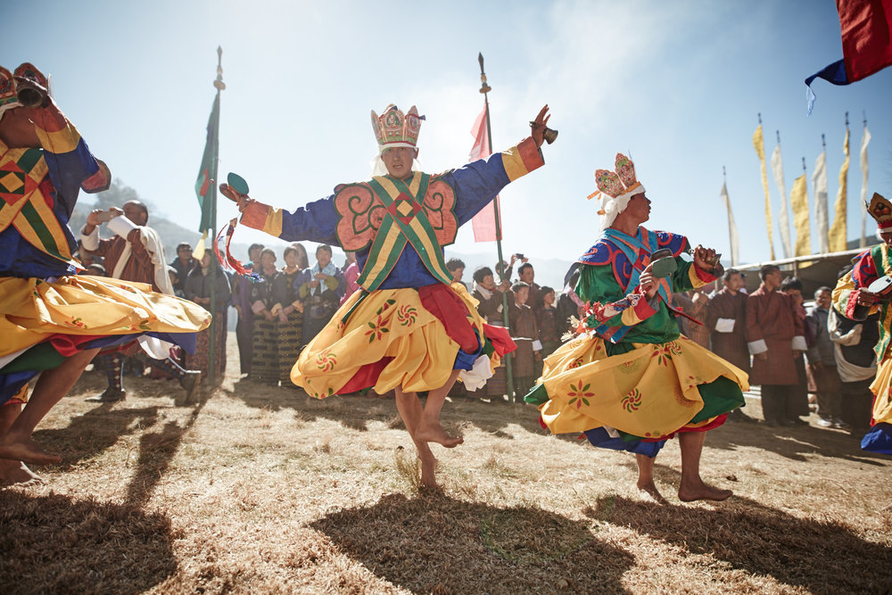 Dancing Monks at a Festival in Tang Valley