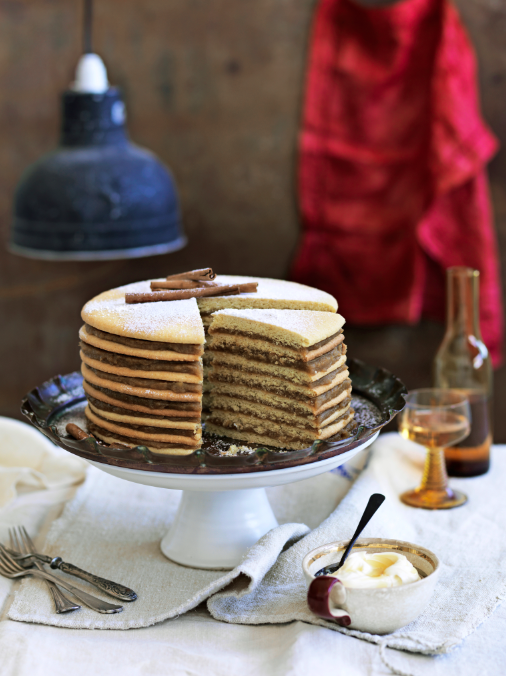 Spiced Apple Stack Cake
