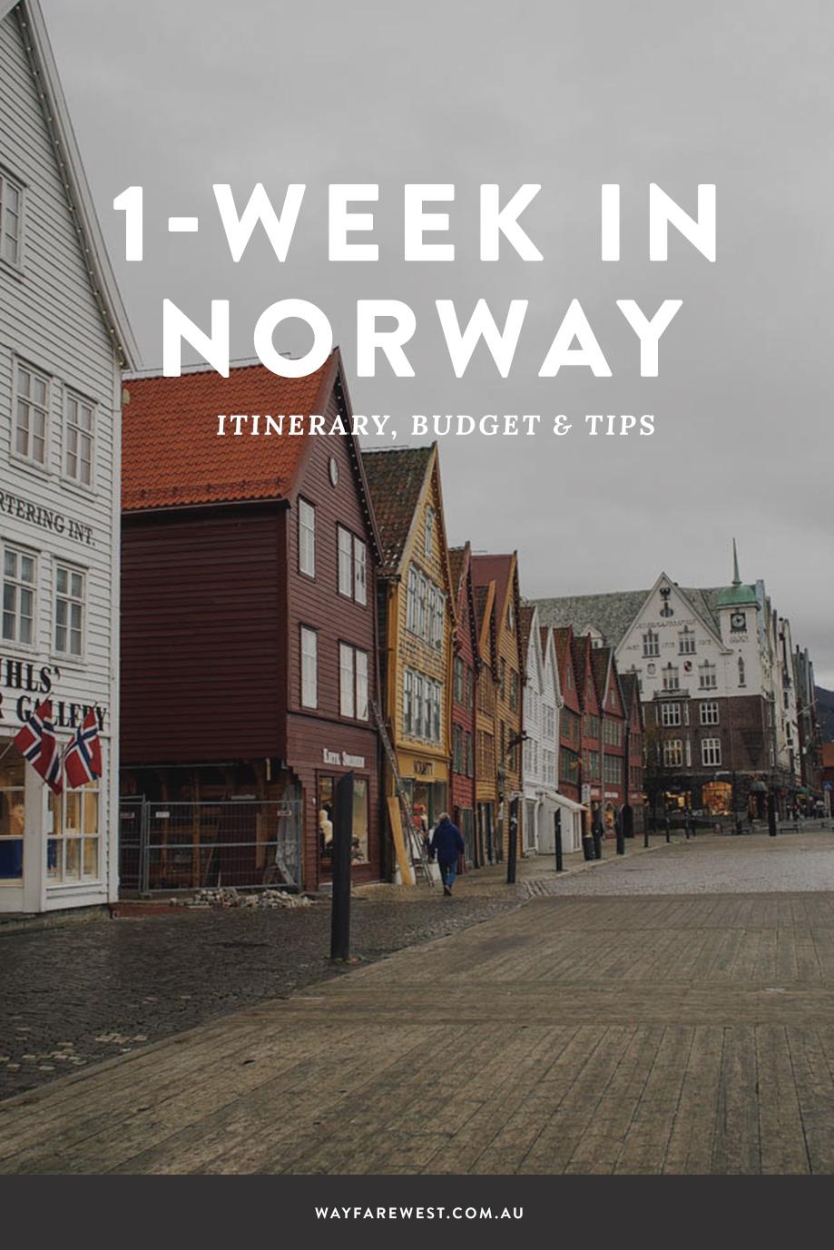 1 week in norway