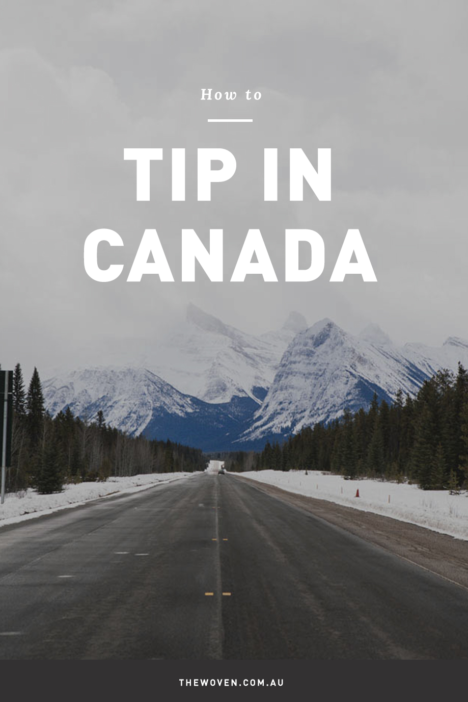 Tipping in Canada