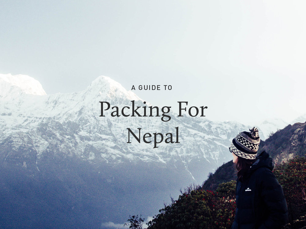 Nepal Packing List