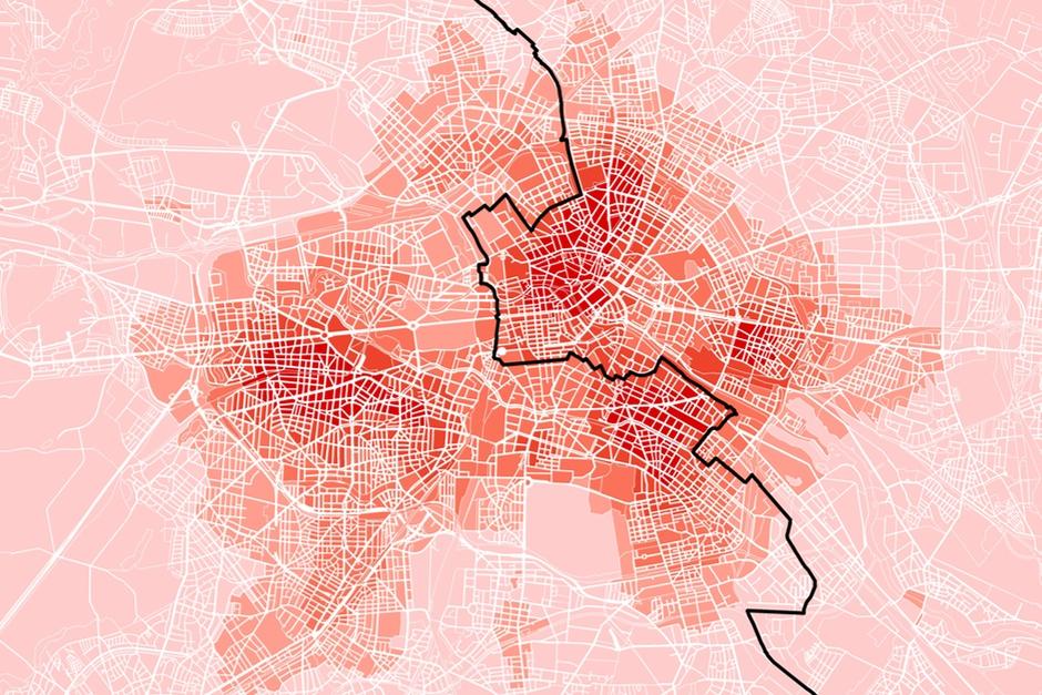 Startup Karte Berlin