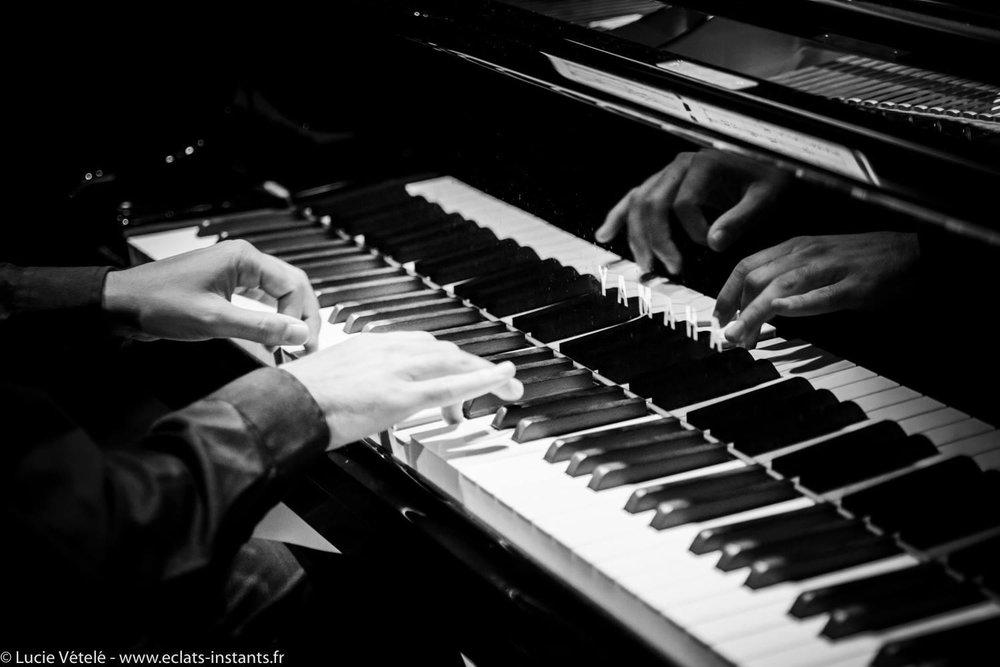 Amine Soufari, Pianiste-Compositeur