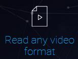 能够将任何形式的视频转换成标准的mpg4格式以便视频回顾