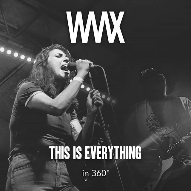 The amazing @waax_band performing 'This Is Everything' to a Brisbane crowd at @theendofthelinefestival in 360°. Link in bio. Pic by @cwilkdesign