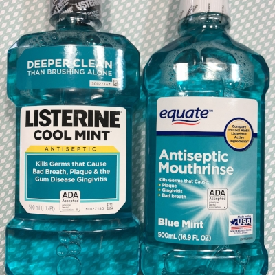 We gave this equate mouth rinse a similarity score of 98%
