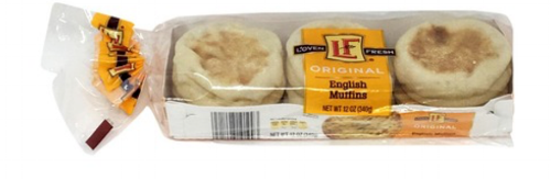 Aldi-brand English muffins are a winner! L'OVEN FRESH is super similar to the name brand, but not 100% because of texture.