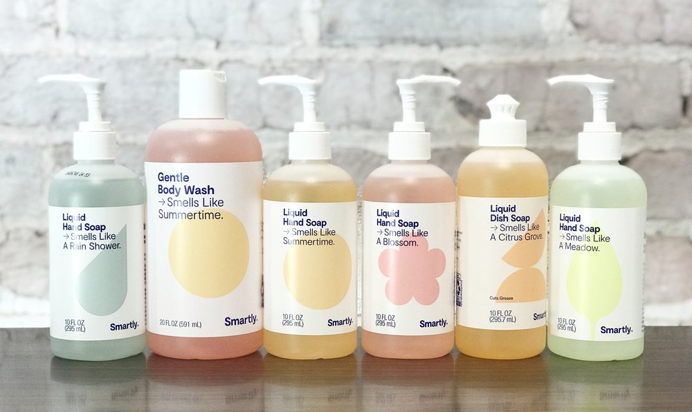 Target Launched their new Smartly line, a no frills household brand that we think is most similar to Method Products.
