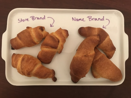The store brand knocks Pillsbury out of the water.