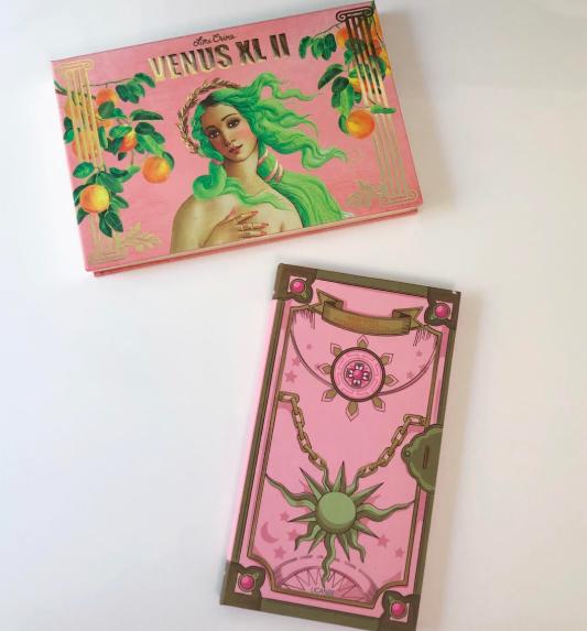 UCANBE Magic Spell Eyeshadow Palette vs  Lime Crime Venus XL 2
