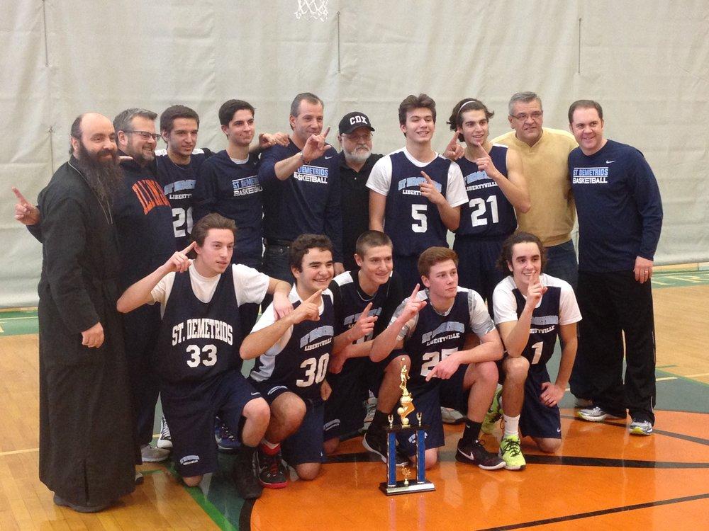 Western Region Family Basketball Tournament Boys Champions 2016