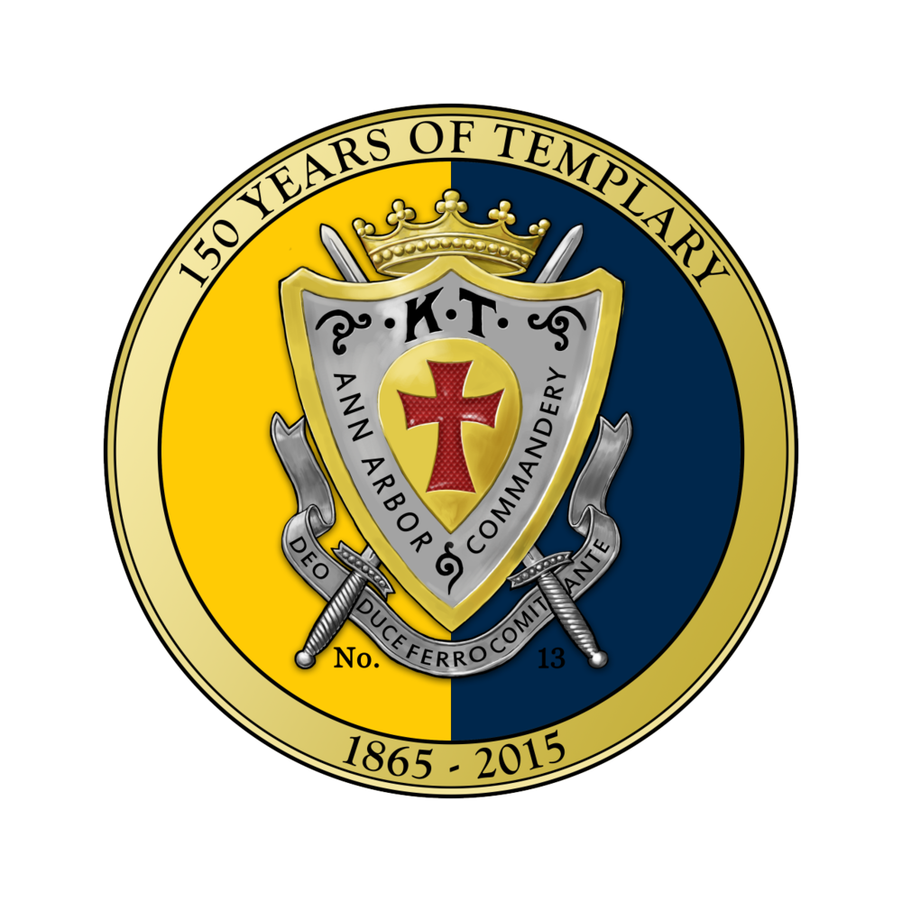 Today marks Ann Arbor Commandery No. 13, Knights Templar's 150th anniversary.  Celebrate by taking a look at the history of our first hundred years here: http://hdl.handle.net/2027/mdp.39015071416591