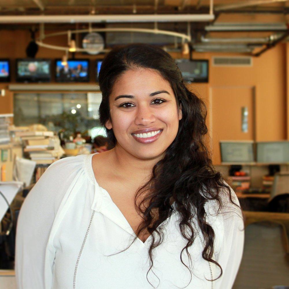 Arwa Gunja , Executive Producer,  The Takeaway