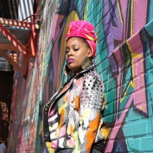 Naima Muhammad , Co-Host,  Tea with Queen and J