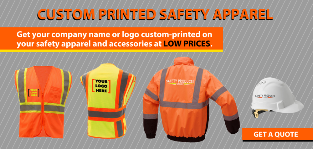 Get Custom Printed Safety Apparel