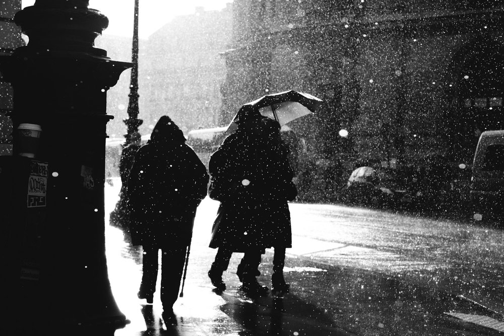 Downpour in Paris