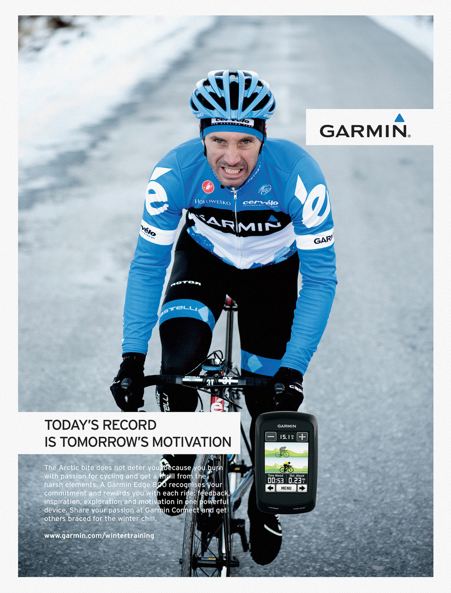 Make Studio, Garmin Cycling