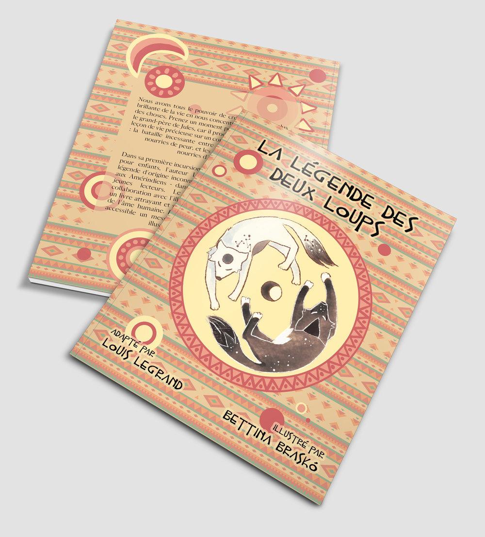 Le livre compagnon des super-méditants - La légende des deux loups, l'album pour enfants qui fait aborder, en mots et en images, cette force étonnante qu'est la bienveillance. VOIR SUR AMAZON