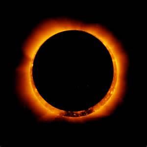 NASA Solar Eclipse Picture