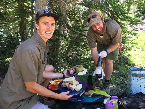 Gourmet Lunch on guided day hike