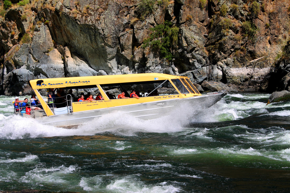Jet Boat in Hells Canyon