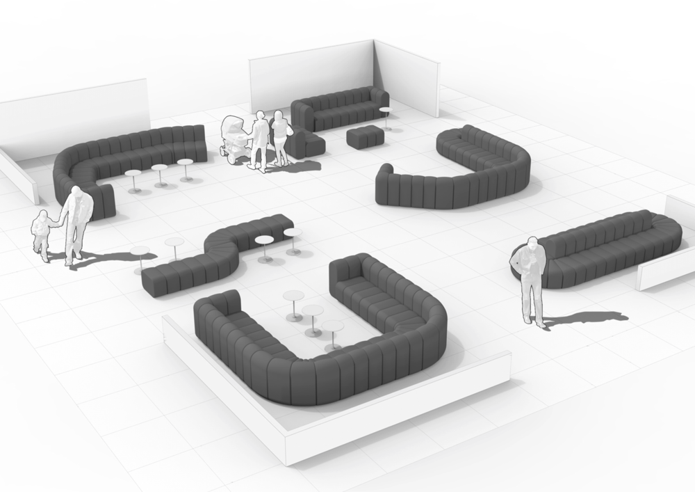Finalist: The modular sofa Bob by Blå Station