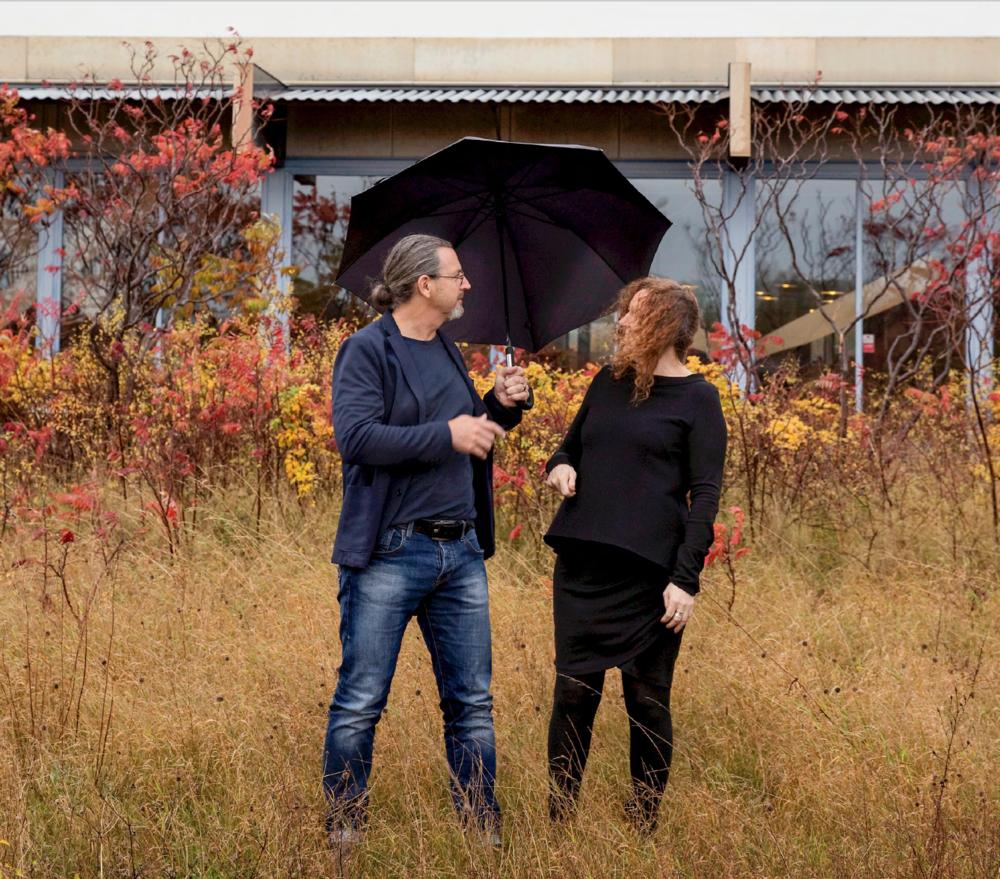 Johan & Mimi Lindau. Photo: Blå Station