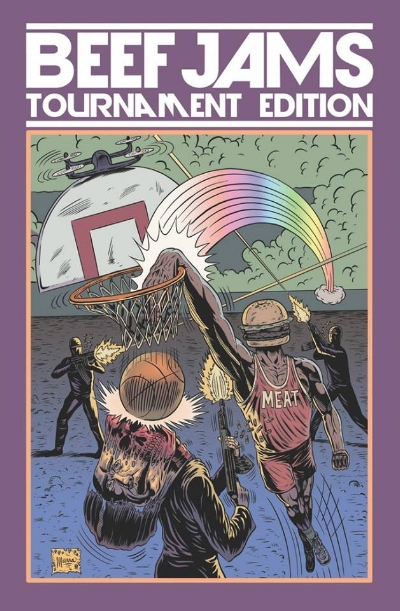 Beef Jams Tournament Edition live on Kickstarter  art by Benjamin Marra
