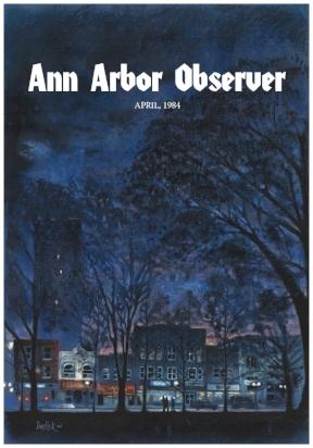 Ann Arbor Observer magazine, April 1984