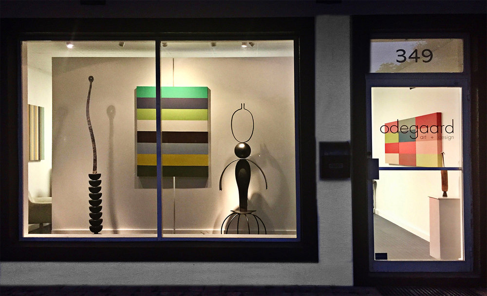 Superior Odegaard Art + Design, A Storefront Space In Downtown Naples, FL, Is Now  Serving As Both A Studio And Exhibition Space For My Own Work.