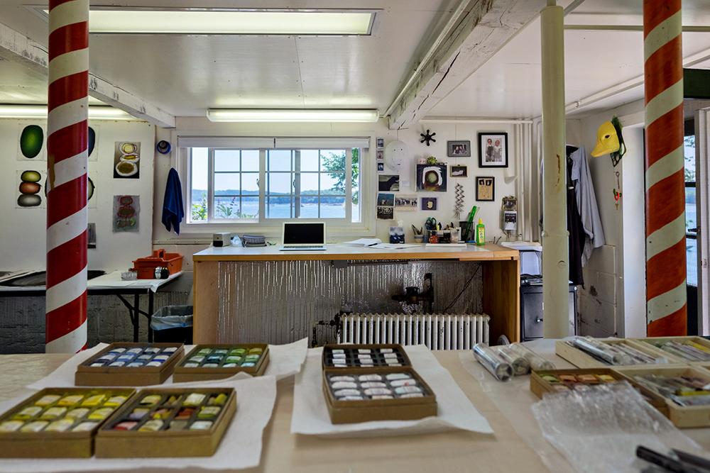 Castine studio