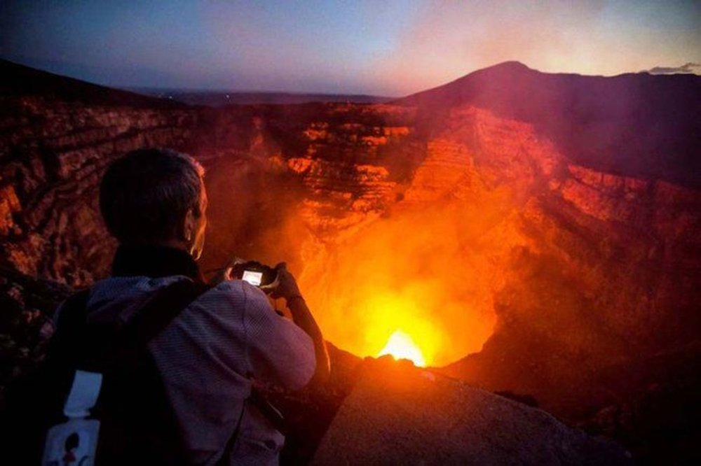 Visit Masaya Volcano