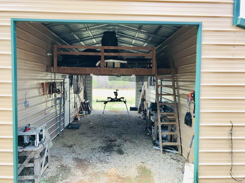 Loft - Center Section of Workshop