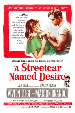Marlon Brando - Given her love of literature and also her admiration for Marlon Brando, the fact thatA Streetcar Named Desire was one of her favorite plays makes sense.