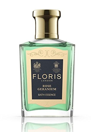 Floris Geranium - Marilyn once ordered half a dozen perfume bottles of Rose Geranium Toilet Water to be delivered to the Beverly Hills Hotel (she really liked the Beverly Hills Hotel as well it seems!)You can't buy the perfume itself anymore, but if you are curious about the scent, you can still get the bath oil. I feel like perfumes are so indicative of personality, so I am curious... I am definitely ordering a bottle!