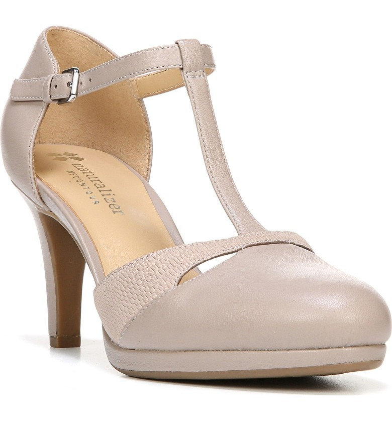 The Only Pumps You'll Ever Need...  - The women's T-strap sandal was first popularized during the 1920s as women began to show off a bit more of their