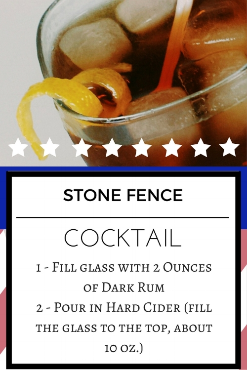 Revolutionary War Era Cocktails