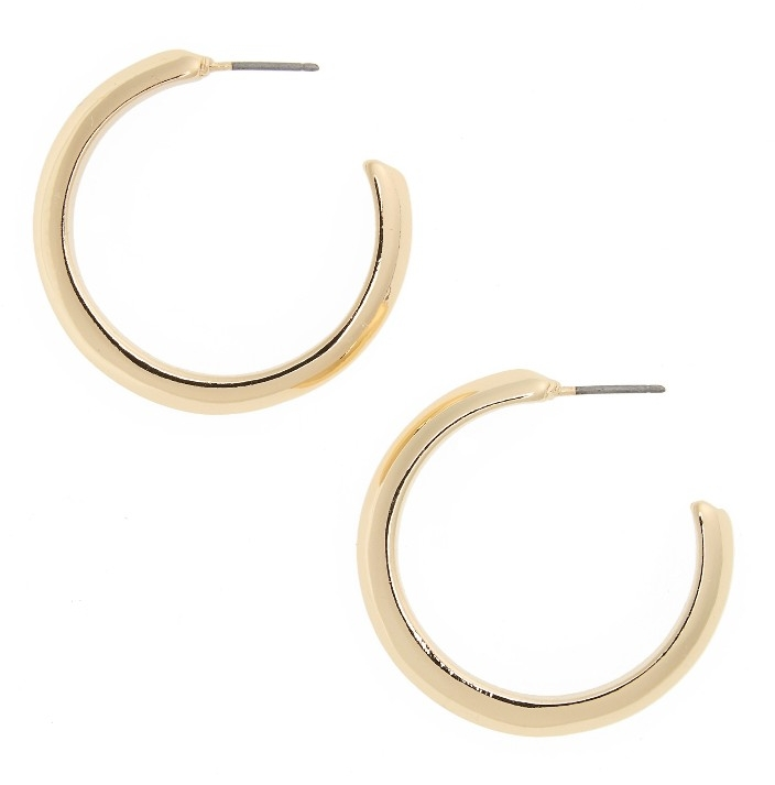 Gypsy Hoops - These dainty hoops are classic and look very non-piratey. You can snag a pair here.