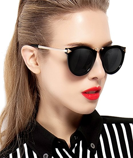 Vintage-Style Sunglasses - These sunglasses make a bold statement, worthy of a pinup. Not for the faint of heart or those afraid to go big... literally.